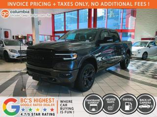 New 2021 RAM 1500 Limited Night Crew Diesel for sale in Richmond, BC