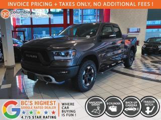 New 2021 RAM 1500 Rebel HEMI for sale in Richmond, BC