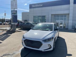 Used 2017 Hyundai Elantra LTD NAV/LEATHER/PANOROOF/HEATEDSEATS/BACKUPCAM for sale in Edmonton, AB