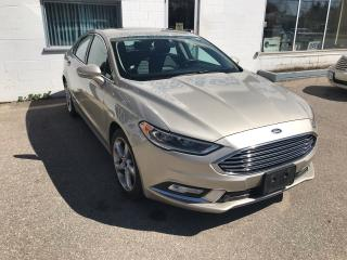 Used 2017 Ford Fusion SE for sale in St. Jacobs, ON