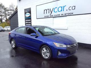 Used 2020 Hyundai Elantra Preferred w/Sun & Safety Package SUNROOF,HEATED SEATS/WHEEL, ALLOYS, BACKUP CAM!! for sale in Kingston, ON