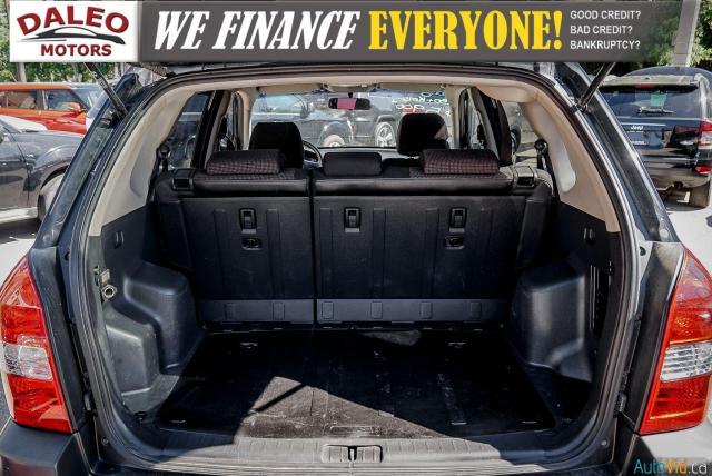 2008 Hyundai Tucson GL / POWER LOCKS & WINDOWS / HEATED FRONT SEATS/ Photo22