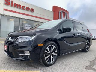 Used 2018 Honda Odyssey Touring for sale in Simcoe, ON