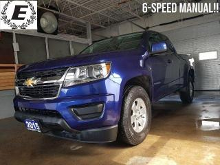 Used 2015 Chevrolet Colorado 6-SPEED MANUAL!! for sale in Barrie, ON