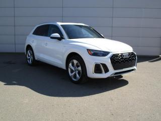 New 2021 Audi Q5 45 Progressiv S Line, ACC, Park Assist for sale in Regina, SK