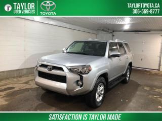 Used 2018 Toyota 4Runner SR5 for sale in Regina, SK
