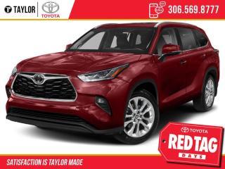 New 2021 Toyota Highlander LIMITED  for sale in Regina, SK