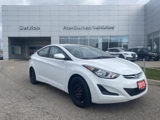 Used 2015 Hyundai Elantra GL ONE OWNER ACCIDENT FREE TRADE . SNOW TIRES ON RIMS INCLUDED, ONLY 72000KMS. for sale in Toronto, ON
