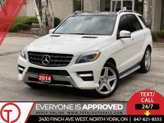 Used 2014 Mercedes-Benz M-Class //AMG SPORT | PREMIUM | NAVI | PANO for sale in North York, ON