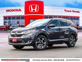 Used 2017 Honda CR-V Touring--1 Owner--No Accidents--Fully Loaded--Remote Starter--AWD for sale in Milton, ON