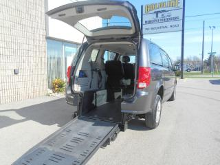 Used 2016 Dodge Grand Caravan CVP-Wheelchair Accessible Rear Entry Manual for sale in London, ON