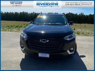 Used 2020 Chevrolet Traverse 3LT AWD | Bluetooth | 7 Passenger Seating | Skyscraper Sunroof for sale in Wallaceburg, ON