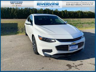 Used 2018 Chevrolet Malibu LT One Owner | No Accidents | Bluetooth | Apple/Android Carplay for sale in Wallaceburg, ON