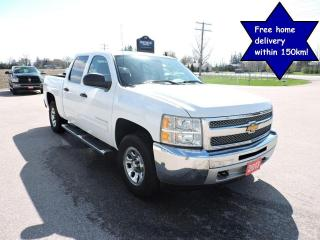 Used 2013 Chevrolet Silverado 1500 LT 4X4 Crew cab Seating for 6 Only 143000 km for sale in Gorrie, ON
