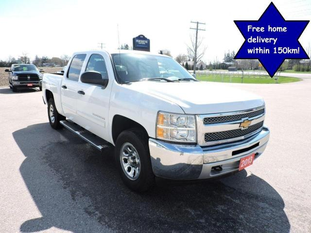 2013 Chevrolet Silverado 1500 LT 4X4 Crew cab Seating for 6 Only 143000 km