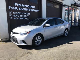 Used 2014 Toyota Corolla LE for sale in Abbotsford, BC
