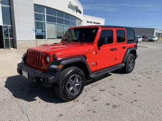 Used 2019 Jeep Wrangler UNLIMITED SPORT for sale in Chatham, ON