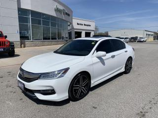 Used 2017 Honda Accord Touring for sale in Chatham, ON