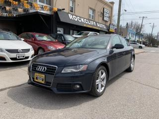 Used 2012 Audi A4 4dr Sdn Auto quattro 2.0T Premium Plus for sale in Scarborough, ON
