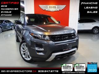 Used 2015 Land Rover Evoque DYNAMIC | CLEAN CARFAX | CERTIFIED | FINANCE | 9055478778 for sale in Oakville, ON