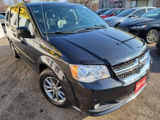 Used 2015 Dodge Grand Caravan SXT Premium Plus/NAVI/CAMERA/LEATHER/DVD/ALLOYS for sale in Scarborough, ON