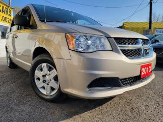 Used 2013 Dodge Grand Caravan SXT/CAPTAIN SEATS/STOW&GOLOADED/CLEAN for sale in Scarborough, ON