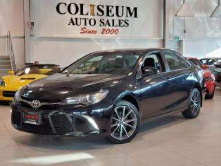 Used 2017 Toyota Camry XSE-AUTO-NAVIGATION-CAMERA-LEATHER/SUEDE COMBO for sale in Toronto, ON