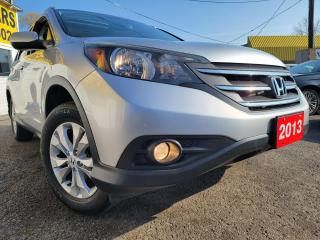 Used 2013 Honda CR-V Touring/AWD/NAVI/CAMERA/LEATHER/ROOF/LOADED/ALLOYS for sale in Scarborough, ON