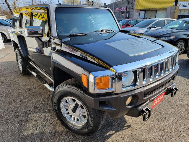 2006 Hummer H3 H3/AUTO/LOADED/RUNNINGBOARDS/ALLOYS/CLEAN