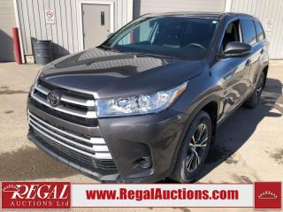 Used 2018 Toyota Highlander LE 4D Utility AWD 3.5L for sale in Calgary, AB