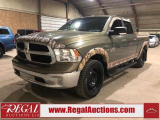 Used 2015 RAM 1500 SLT Crew CAB LWB 4WD 5.7L for sale in Calgary, AB