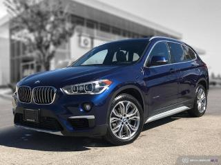 Used 2017 BMW X1 xDrive28i Enhanced! Local Low Mileage Lease Return! for sale in Winnipeg, MB