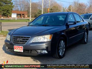 Used 2009 Hyundai Sonata GL Ltd.|SINGLE OWNER|LOW KM|NO ACCIDENT|CERTIFIED for sale in Oakville, ON