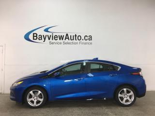 Used 2017 Chevrolet Volt LT - PLUG IN HYBRID! LEATHER! PWR GROUP! for sale in Belleville, ON