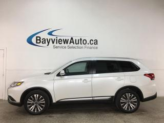 Used 2020 Mitsubishi Outlander EX - 7PASS! AWD! 1/2 LEATHER! SUNROOF! 18