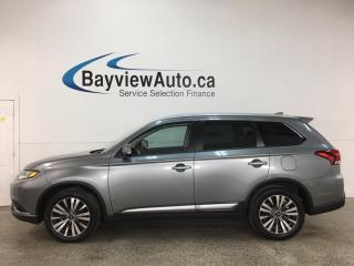 Used 2020 Mitsubishi Outlander EX - AWD! 7PASS! 1/2 LTHR! SUNROOF! 18
