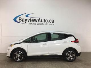 Used 2020 Chevrolet Bolt EV Premier - RARE FIND! TWO TONE LTHR! 380KM RANGE! FULL PWR GROUP! FREE YOURSELF FROM GAS! for sale in Belleville, ON