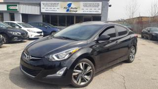 Used 2016 Hyundai Elantra GLS P-Moon/Backup Cam/Heated seats for sale in Etobicoke, ON