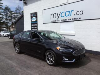 Used 2019 Ford Fusion Hybrid Titanium LEATHER, SUNROOF, NAV, HEATED SEATS, WOW!! for sale in Richmond, ON