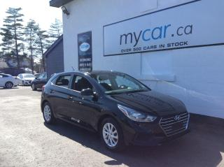 Used 2020 Hyundai Accent Preferred ALLOYS, HEATED SEATS, BACKUP CAM, APPLE CAR PLAY!! for sale in Richmond, ON