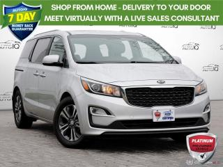 Used 2019 Kia Sedona SX | NO ACCIDENTS | POWER SEAT | POWER MOONROOF | POWER LIFTGATE | for sale in Barrie, ON