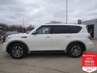 Used 2019 Nissan Armada 4x4 SL - Pano Sunroof/Nav/8 Passenger/Bluetooth for sale in Winnipeg, MB