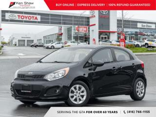 Used 2013 Kia Rio Plus for sale in Toronto, ON