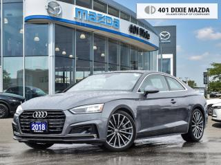 Used 2018 Audi A5 Coupe Prestige NO ACCIDENTS| WINTER TIRE PACKAGE|S-LINE for sale in Mississauga, ON