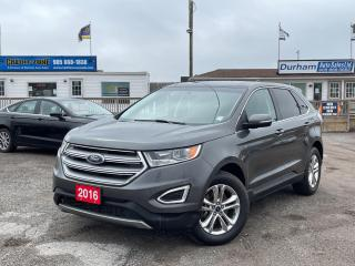 Used 2016 Ford Edge SEL for sale in Whitby, ON