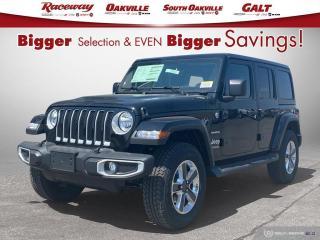 New 2021 Jeep Wrangler Unlimited Sahara for sale in Etobicoke, ON