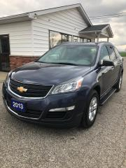 Used 2013 Chevrolet Traverse LS 7 Passenger Recent Trade from Area for sale in Petrolia, ON