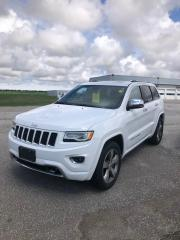 Used 2016 Jeep Grand Cherokee Overland ECO-DIESEL Local Trade-In for sale in Petrolia, ON