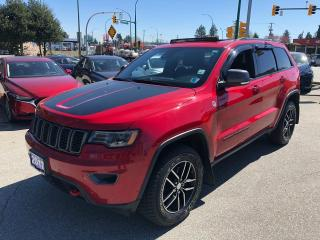 Used 2017 Jeep Grand Cherokee 4x4 Trailhawk for sale in Burnaby, BC