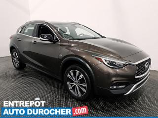 Used 2017 Infiniti QX30 AWD - NAVIGATION - TOIT PANORAMIQUE - CLIMATISEUR for sale in Laval, QC